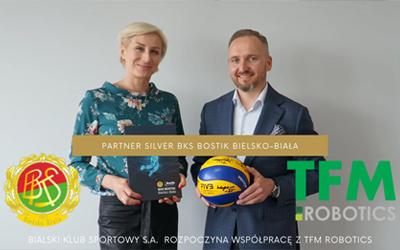 TFM Robotics w drużynie BKS BOSTIK Bielsko-Biała