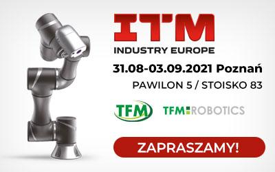Zapraszamy na targi przemysłowe ITM do Poznania!